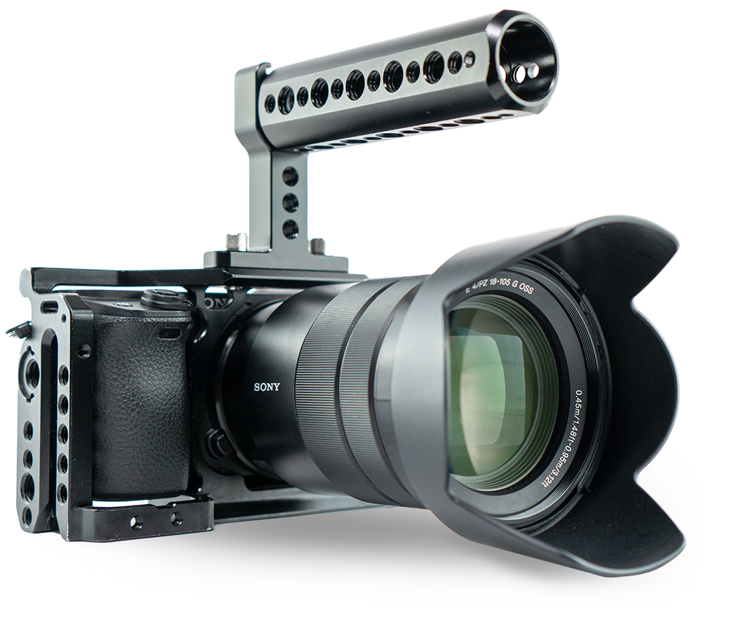 Image of a professional grade camera